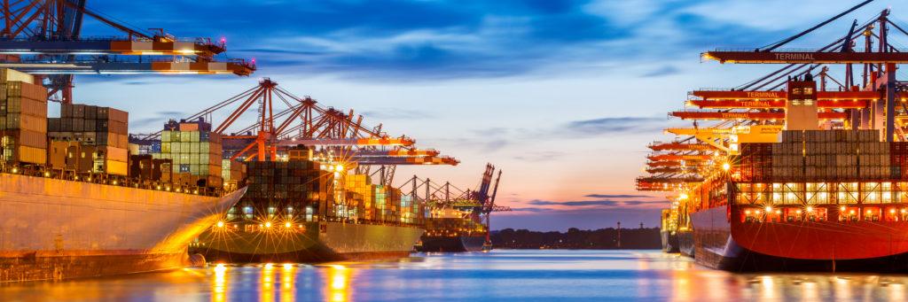 werken in de havens Rotterdam